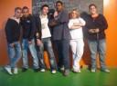 Junge TeilnehmerInnen aus dem Jugendzentrum Schlachthof